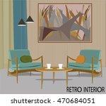 vector illustration of retro... | Shutterstock .eps vector #470684051