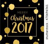 golden color pattern merry... | Shutterstock .eps vector #470696561