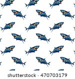 seamless pattern of hand drawn... | Shutterstock .eps vector #470703179