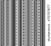 seamless vector tribal texture... | Shutterstock .eps vector #470707877