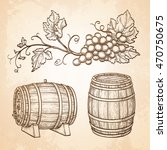 hand drawn vector illustration... | Shutterstock .eps vector #470750675