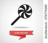 lollipop icon | Shutterstock .eps vector #470774285