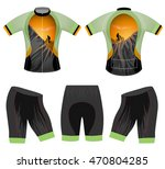 sports cycling vest vector... | Shutterstock .eps vector #470804285