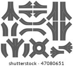 city map creation kit  diy .... | Shutterstock .eps vector #47080651