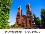 cathedral of st. barbara ... | Shutterstock . vector #470819579