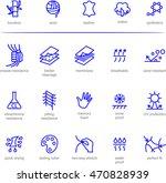 fabric technology  properties... | Shutterstock .eps vector #470828939
