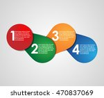 simple infographic | Shutterstock .eps vector #470837069