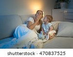 adorable baby boy sitting on... | Shutterstock . vector #470837525