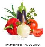 photo realistic vector.... | Shutterstock .eps vector #47086000