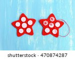 Sewing Red Christmas Star Diy...