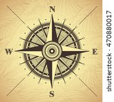 vector compass rose detailed...   Shutterstock .eps vector #470880017