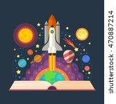 vector illustration of open...   Shutterstock .eps vector #470887214