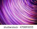 abstract rotating long exposure