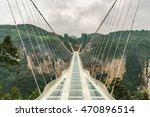 zhangjiajie grand canyon  hunan ... | Shutterstock . vector #470896514