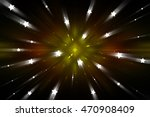 abstract multicolored fractal... | Shutterstock . vector #470908409