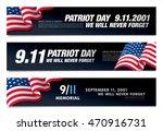patriot day. september 11. we... | Shutterstock .eps vector #470916731