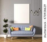 3d render of beautiful clean... | Shutterstock . vector #470928629