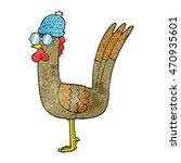 freehand textured cartoon... | Shutterstock . vector #470935601