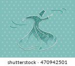 Whirling Dervish Vector...