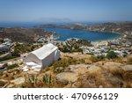 ios island greece | Shutterstock . vector #470966129