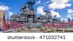 oahu  hi   aug 5  2016  the uss ... | Shutterstock . vector #471032741
