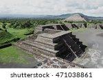 teotihuacan pyramids            | Shutterstock . vector #471038861