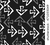 seamless pattern with arrows  ... | Shutterstock . vector #471055049
