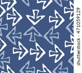 seamless pattern with arrows  ... | Shutterstock . vector #471059129