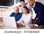 4 intelligent business partners ...   Shutterstock . vector #471064469