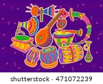 vector design of art and music... | Shutterstock .eps vector #471072239