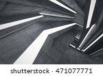 empty dark abstract concrete... | Shutterstock . vector #471077771