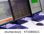 modern control room with... | Shutterstock . vector #471080021