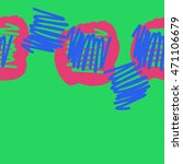 seamless  horizontal abstract... | Shutterstock . vector #471106679