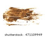 drops of mud sprayed isolated... | Shutterstock . vector #471109949
