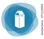 milk vector icon | Shutterstock .eps vector #471119054