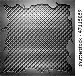 aluminum metal  template... | Shutterstock . vector #47115859