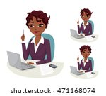 smart business solution....   Shutterstock .eps vector #471168074