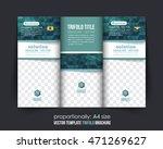sea blue colors geometric... | Shutterstock .eps vector #471269627
