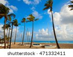 fort lauderdale beach morning... | Shutterstock . vector #471332411