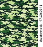 fashionable camouflage pattern  ... | Shutterstock .eps vector #471360341