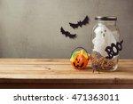 halloween holiday decoration... | Shutterstock . vector #471363011