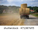 Harvesting With Tractor...
