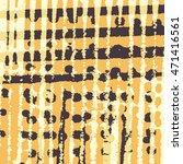 abstract grunge vector... | Shutterstock .eps vector #471416561