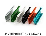 samples of colorful aluminum...   Shutterstock . vector #471421241