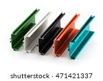 samples of colorful aluminum... | Shutterstock . vector #471421337