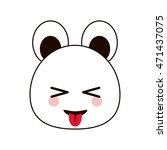 Bear Kawaii Animal Cartoon Cut...