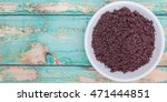 superfood dried acai berry... | Shutterstock . vector #471444851