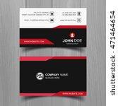 modern business card | Shutterstock .eps vector #471464654