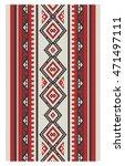a beautiful vertical sadu style ... | Shutterstock .eps vector #471497111