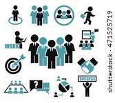 teamwork  meeting  seminar icon ... | Shutterstock .eps vector #471525719